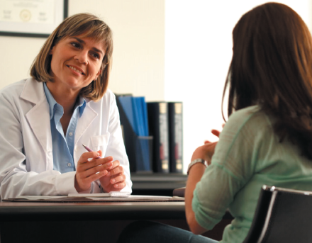 Talking to your doctor about heavy menstrual bleeding