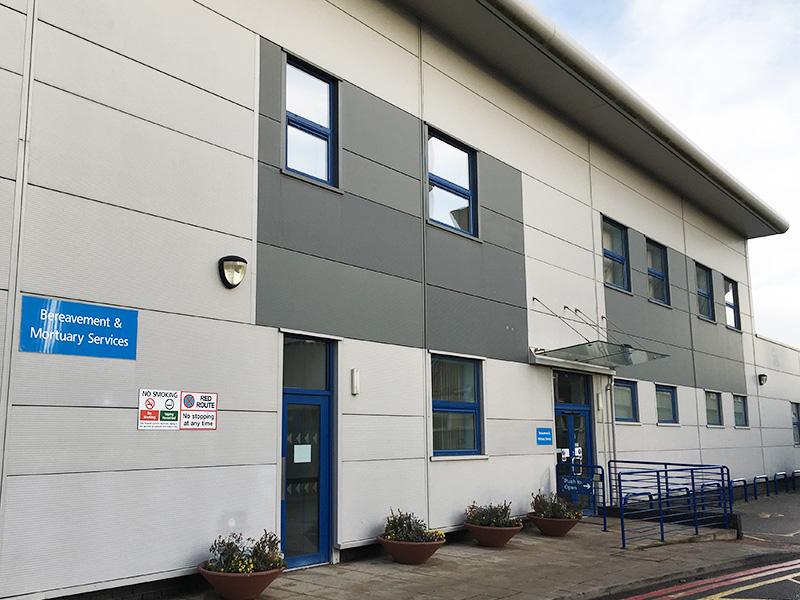 Bereavement Services at Hull Royal Infirmary
