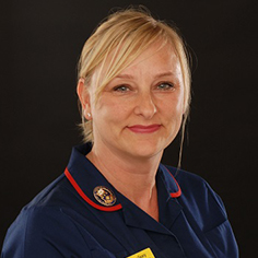 Chief Nurse - Mike Wright